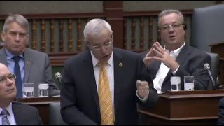 Fedeli questions government on latest energy scandal May 19, 2016