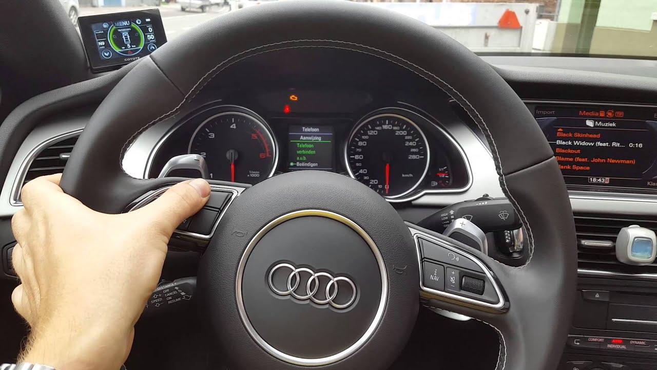 Audi A5 8T Steering Wheel Retrofit YouTube