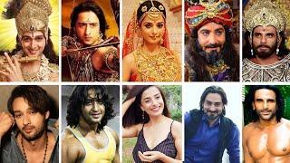 Mahabharatham நடிகர்களின் REAL Life Photos, Age & Family | Vijay TV