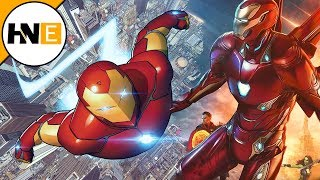 Iron Man's New Nanotech Armor Upgrades in Avengers 4