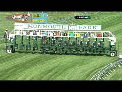 video thumbnail for MONMOUTH PARK 09-06-20 RACE 1