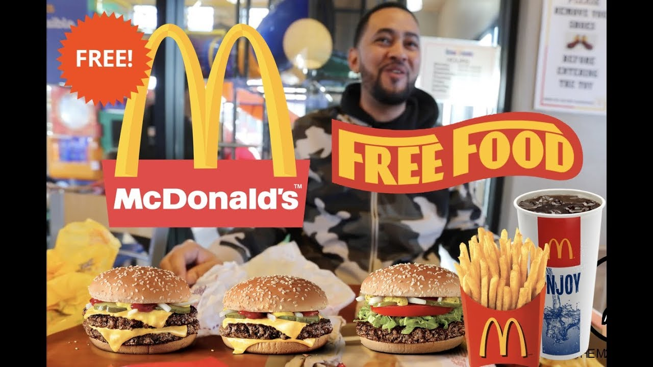 How To Get Free Food At Mcdonalds Youtube