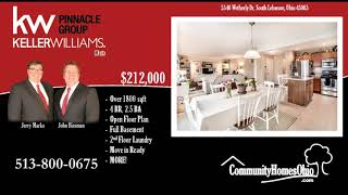 Real Estate for Sale in Little Miami School District  4 Bed 2.5 Bath Home w/Full Basement