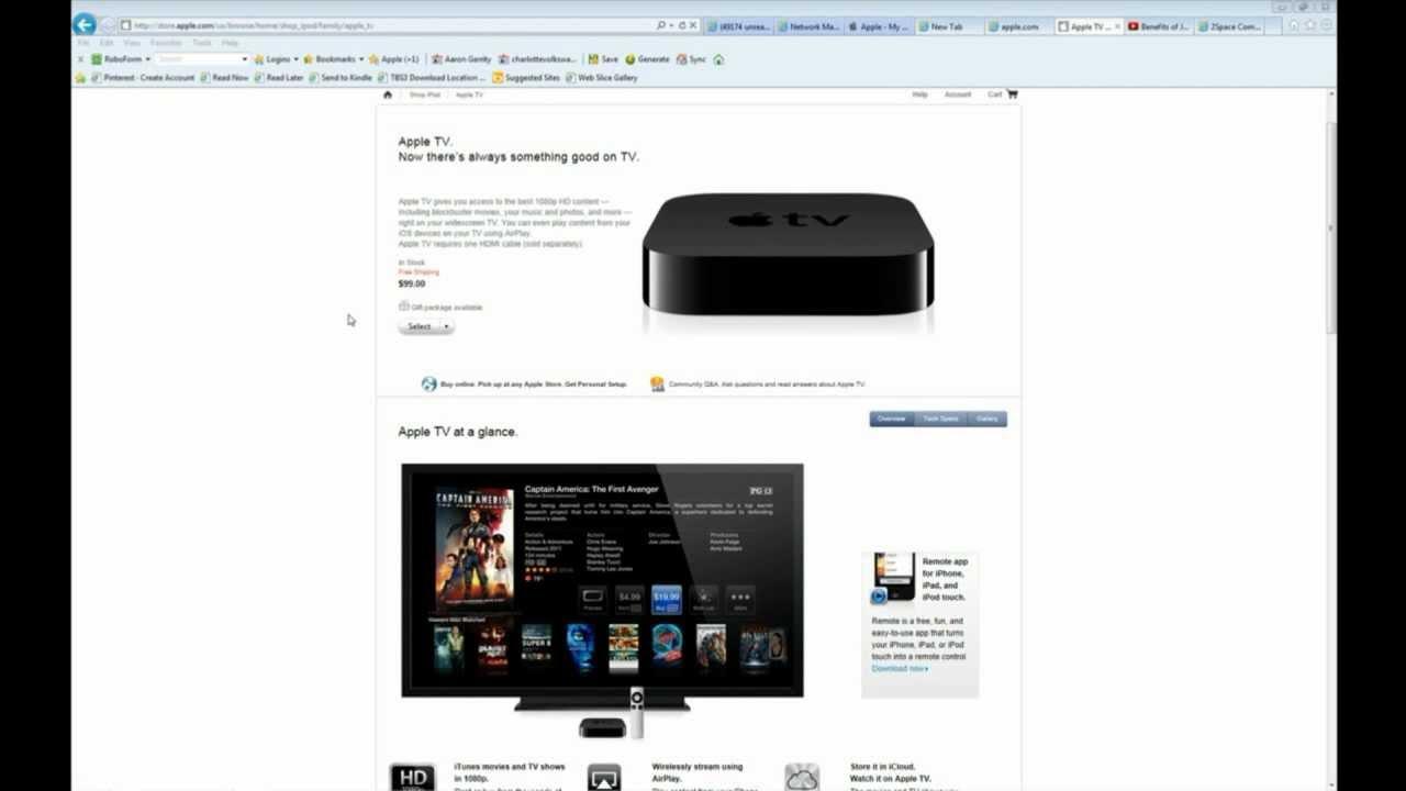 Restore Reset Your Apple Tv 2nd Generation 3rd Gen When Frozen