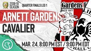 RSPL QUARTER-FINALS Post-Game Show! Arnett Gardens vs. Cavalier