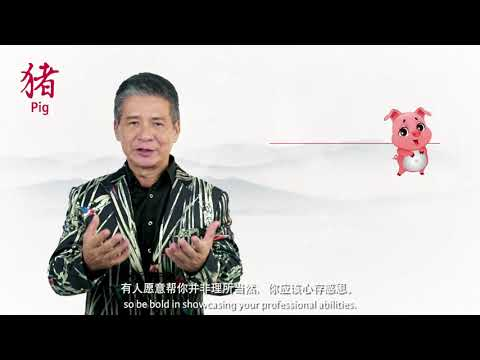 2018 Pig Zodiac Forecast by Grand Master Tan Khoon Yong