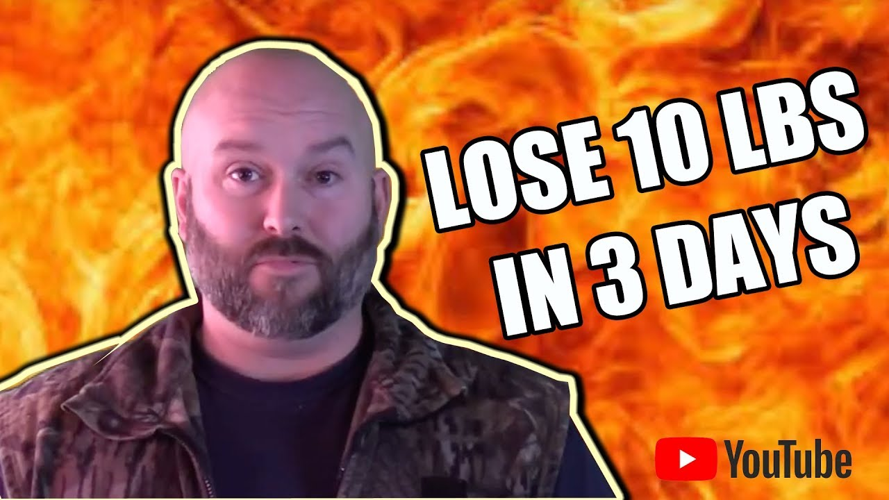 how to lose 10lb in 3 days