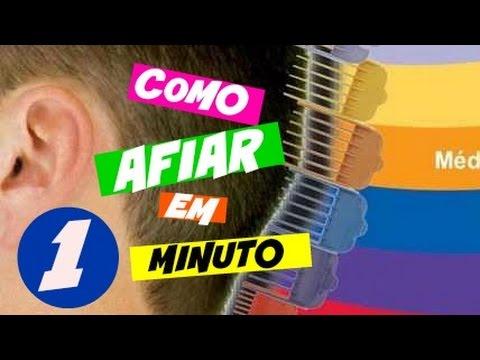 fb5e202c3 Como afiar maquina de cortar cabelo em 1 minuto - YouTube