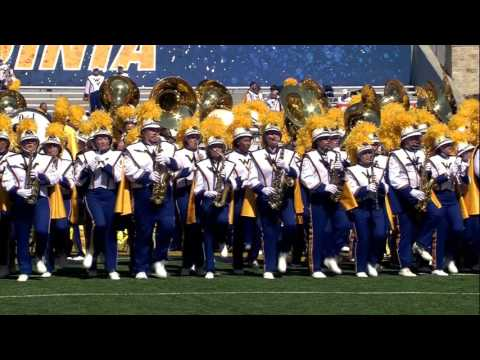 WVU Marching Band Pregame Performance - Sept. 3, 2016