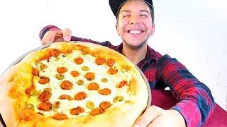 CHEESIEST PEPPERONI PIZZA  Mukbang & Recipe