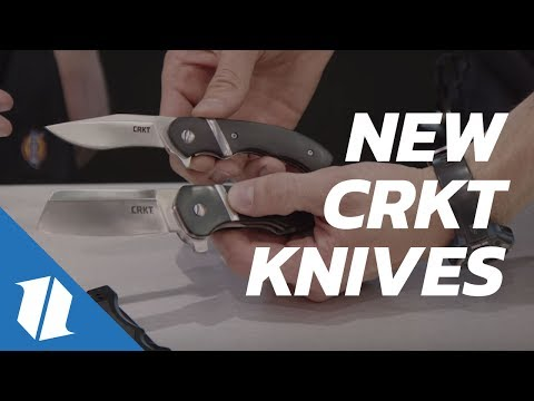 NEW CRKT Knives   Blade Show 2017