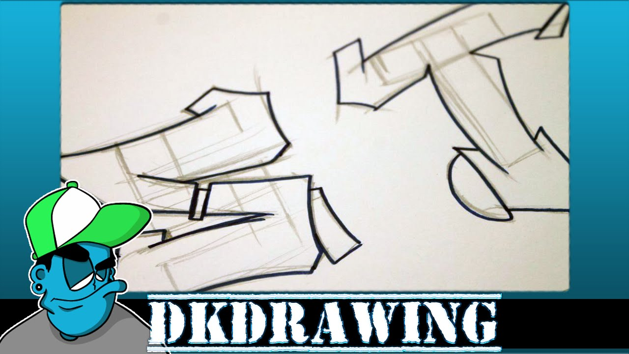 Graffiti Tutorial For Beginners How To Draw Cool Letters S T