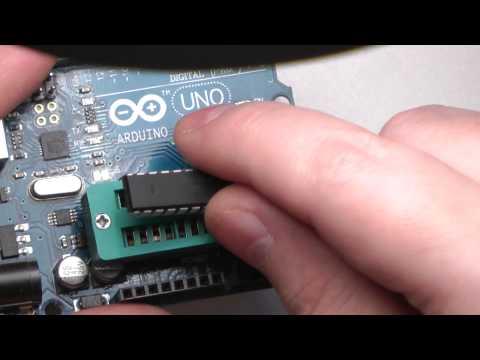 Самый дешевый Arduino Uno $ Minimal Atmega 328 Without Arduino Board