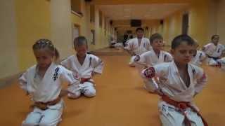 Воспитание через KARATE детей с 3 до 5 лет(Martial Arts KARATE Children 3 - 5 year ...