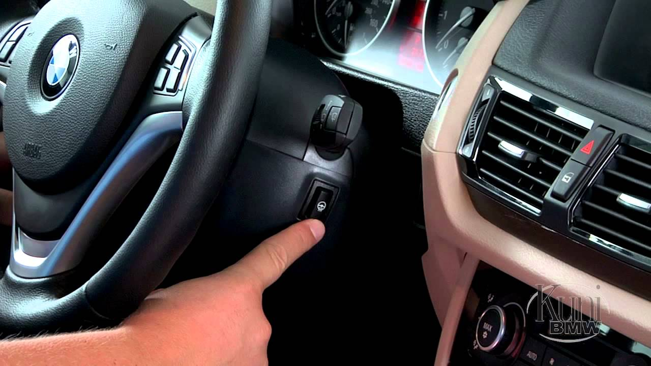 Bmw X1 Steering Wheel Heating Control Youtube