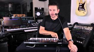 Roland JD-Xi Synthesizer - Building a Track From Scratch