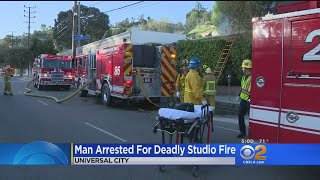 Man Arrested For Deadly Studio Fire