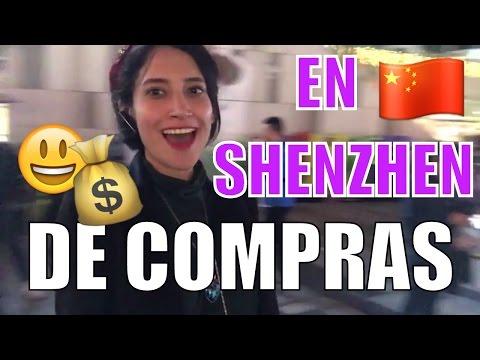 DE COMPRAS CON MI AMIGA PERUANA EN SHENZHEN HERMOSOS POWER BANKS MARCARIB EN CHINA