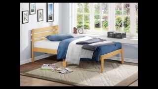 Homelegance 5794tak 1 Platform Bed, Twin, Oak Finish
