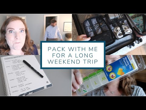 Pack With Me For A Long Weekend In Maryland | Packing Vlog
