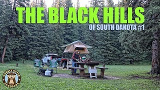 Camping & Exploring Diтch Creek Camp Area, Black Hills of South Dakota