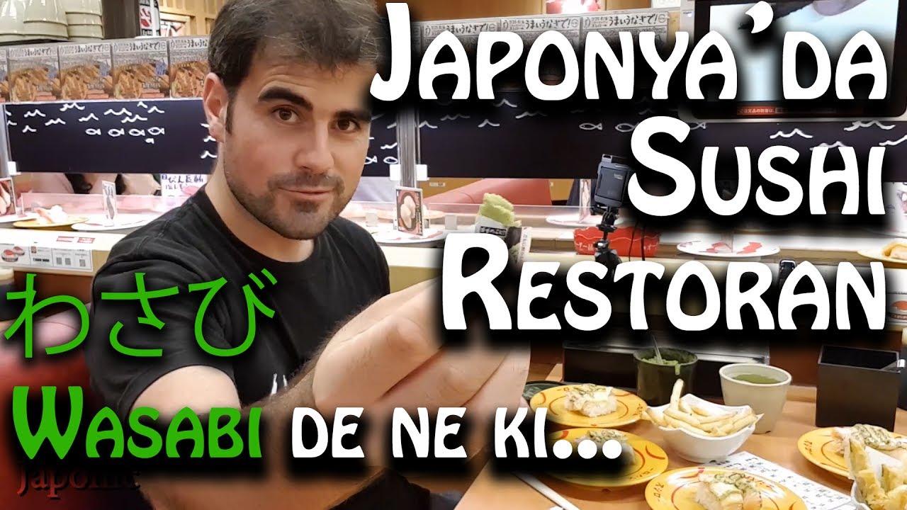Bastım Wasabiyi Sushi Japonyada Yenir Laan Japonic Youtube