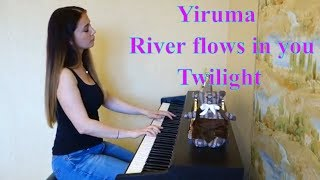 YIRUMA - RIVER FLOWS IN YOU | OST TWILIGHT | саундтрек к/ф Сумерки | Piano cover by Music Moment