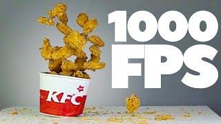 100 крылышек KFC в Slow Mo