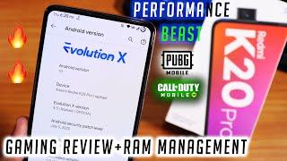 EvolutionX [V4.5 Radiant] Gaming & Performance Review On Redmi K20 Pro [07/07/2020 Build]
