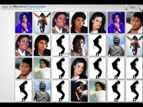 Memória: Michael Jackson - Jogos Online Grátis