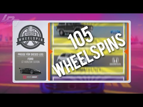 105 WHEELSPINS!! - FORZA HORIZON 3 Part 67 | Lets Play