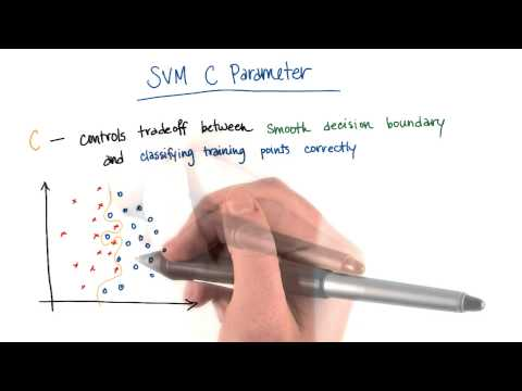 SVM C Parameter - Intro to Machine Learning