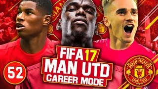 FIFA 17 Career Mode: Manchester United #52 - Community Shield & Copa Europe