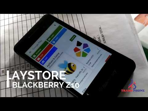 CARA INSTALL PLAYSTORE DI BLACKBERRY Z10