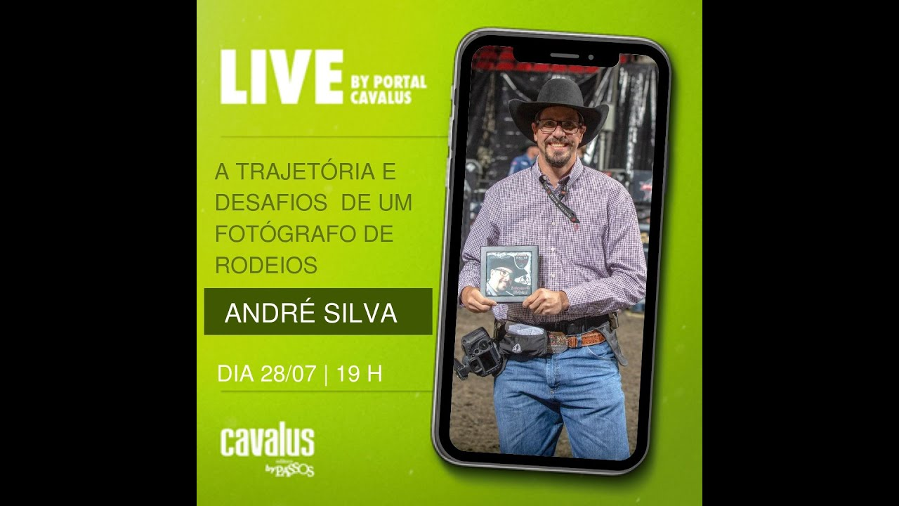 Live - Portal Cavalus - Contei um pouco da minha trajetória para a jornalista e amiga Luciana Omena