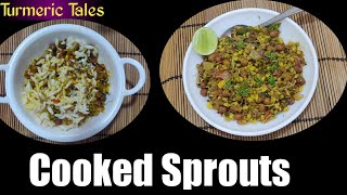 How to cook Sprouts?| Should we cook Sprouts? | Easy Recipe of cooked Sprouts