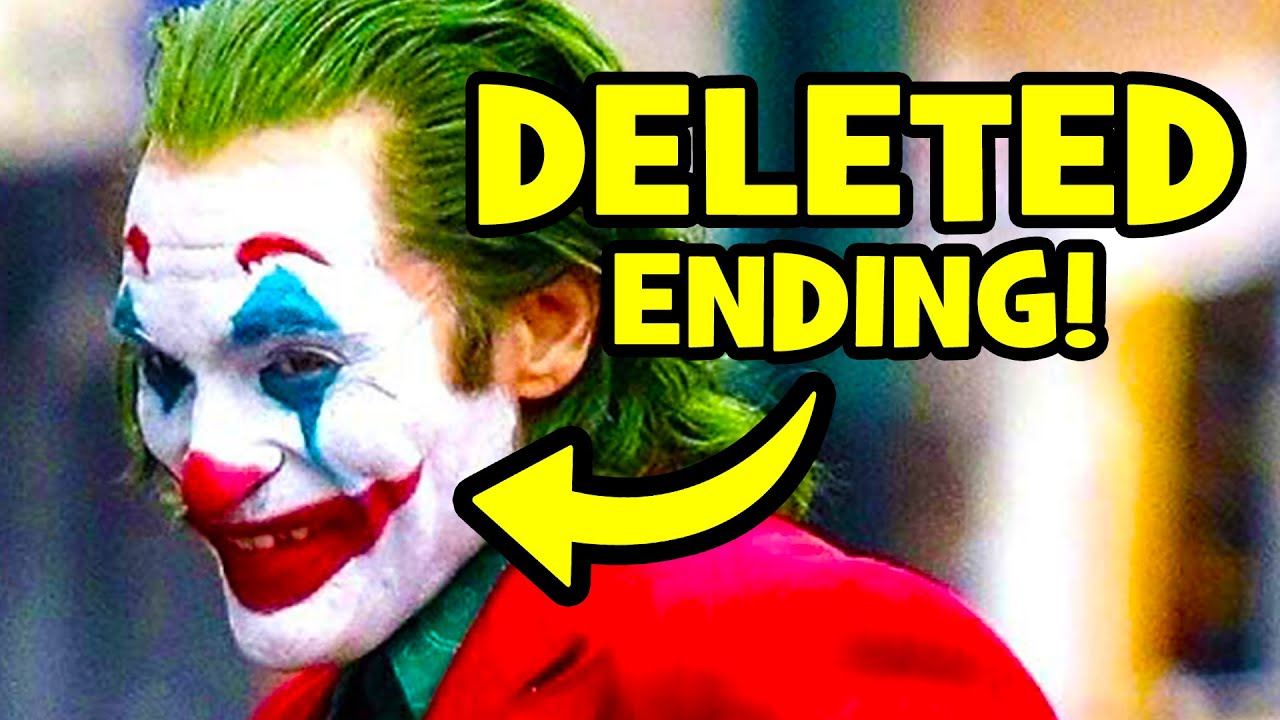 The Horrific Joker 2019 Ending You Never Saw Deleted