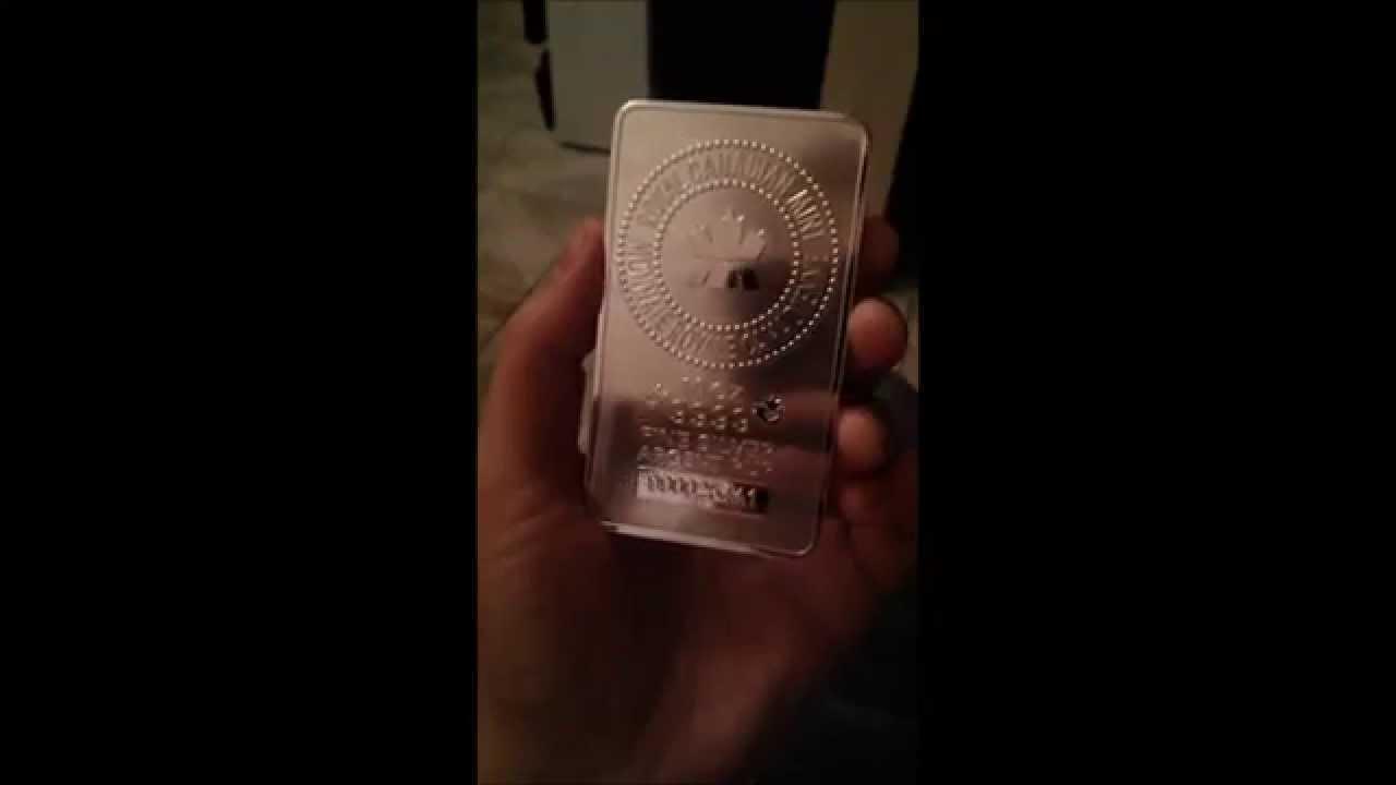 RCM Royal Canadian Mint 10 oz .9999 Silver Bar