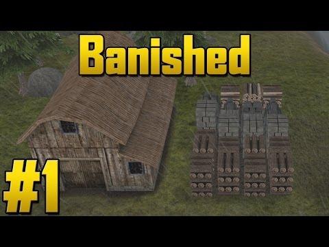 Banished - Episode 1 - Getting Started! (Village Survival Simulator)