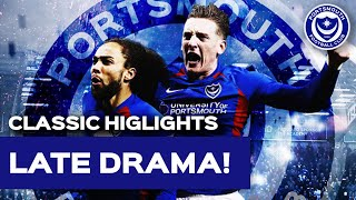 Highlights: Portsmouth 3-2 Exeter City