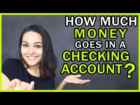 How Much Money Should I Keep In My Checking Account?