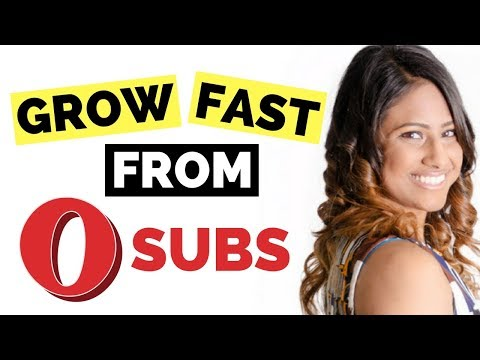 5 WAYS TO GROW YOUR YOUTUBE CHANNEL FAST AND NEVER GIVE UP