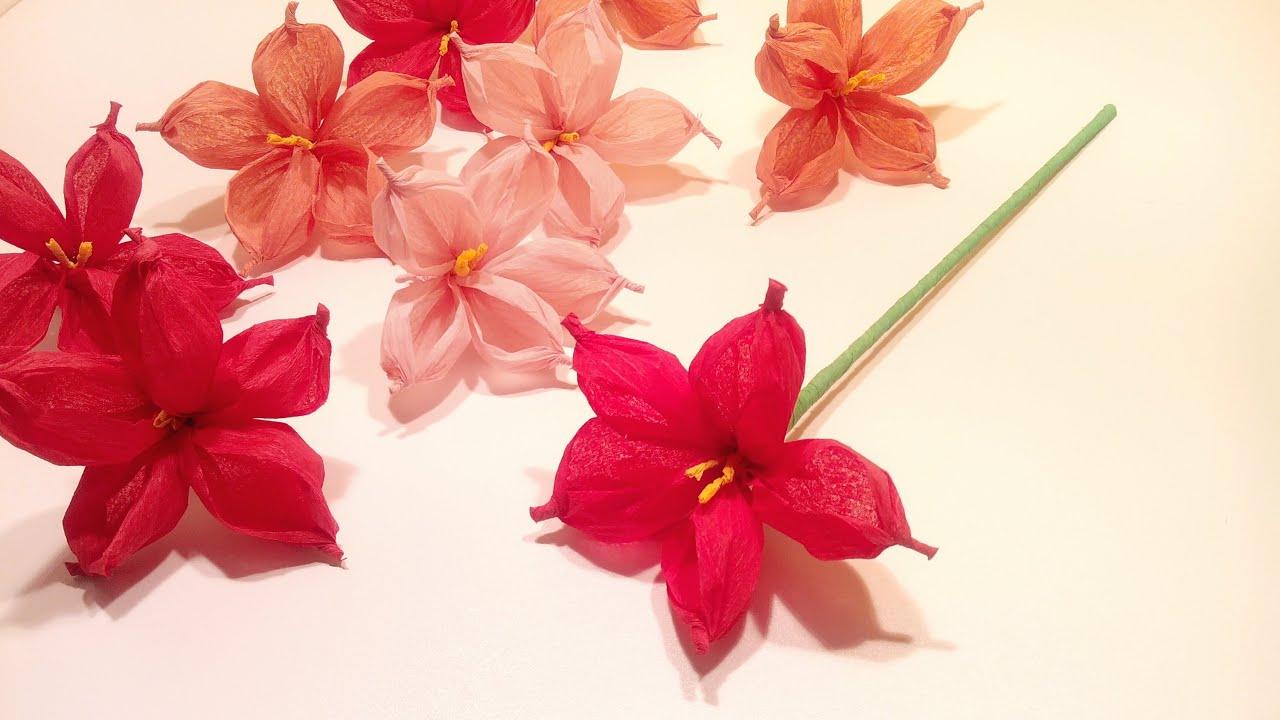 Tutoriales Flores De Papel Paso A Paso Papelisimo