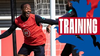 Cheeky Sterling Goal & North v South Game! | Inside Training | England