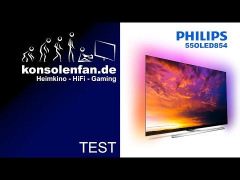 Test: Philips 55OLED854 - Wie immer überragend