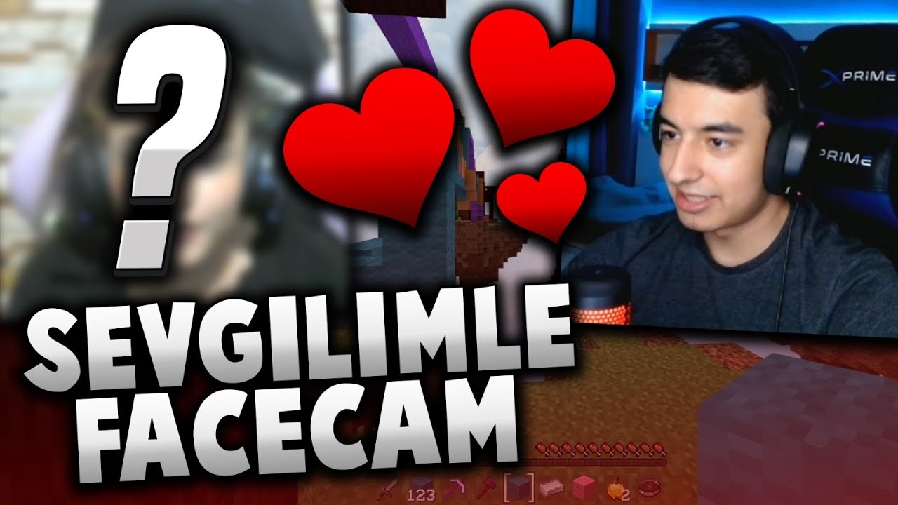 SEVGİLİM İLE ÇİFT FACECAM !! w/@Selindy -minecraft sonoyuncu
