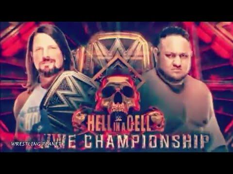 AJ Styles vs Samoa Joe [MV] Lil Pump - Movin ft. Smokepurpp (Hell In The Cell)