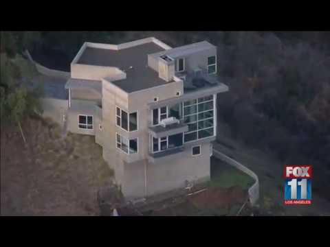 Landslide leaves Malibu home red-tagged over safety concerns