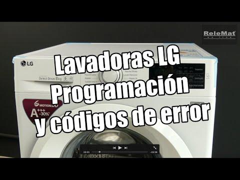 Lavadoras LG, ajustes y errores de funcionamiento. LG washing machines, adjustments and malfunctions