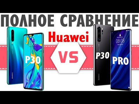 Huawei P30 против Huawei P30 Pro - ВОТ ЭТО ПОВОРОТ